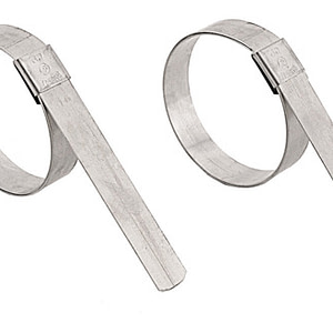 stainless steel center punch hose clamps