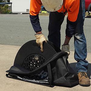 Manhole Safety Grates | Folding Circular Grate