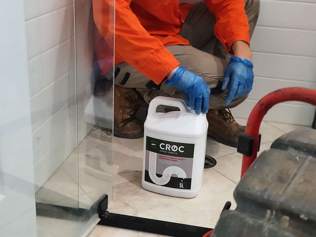 Croc Crete | Concrete dissolver